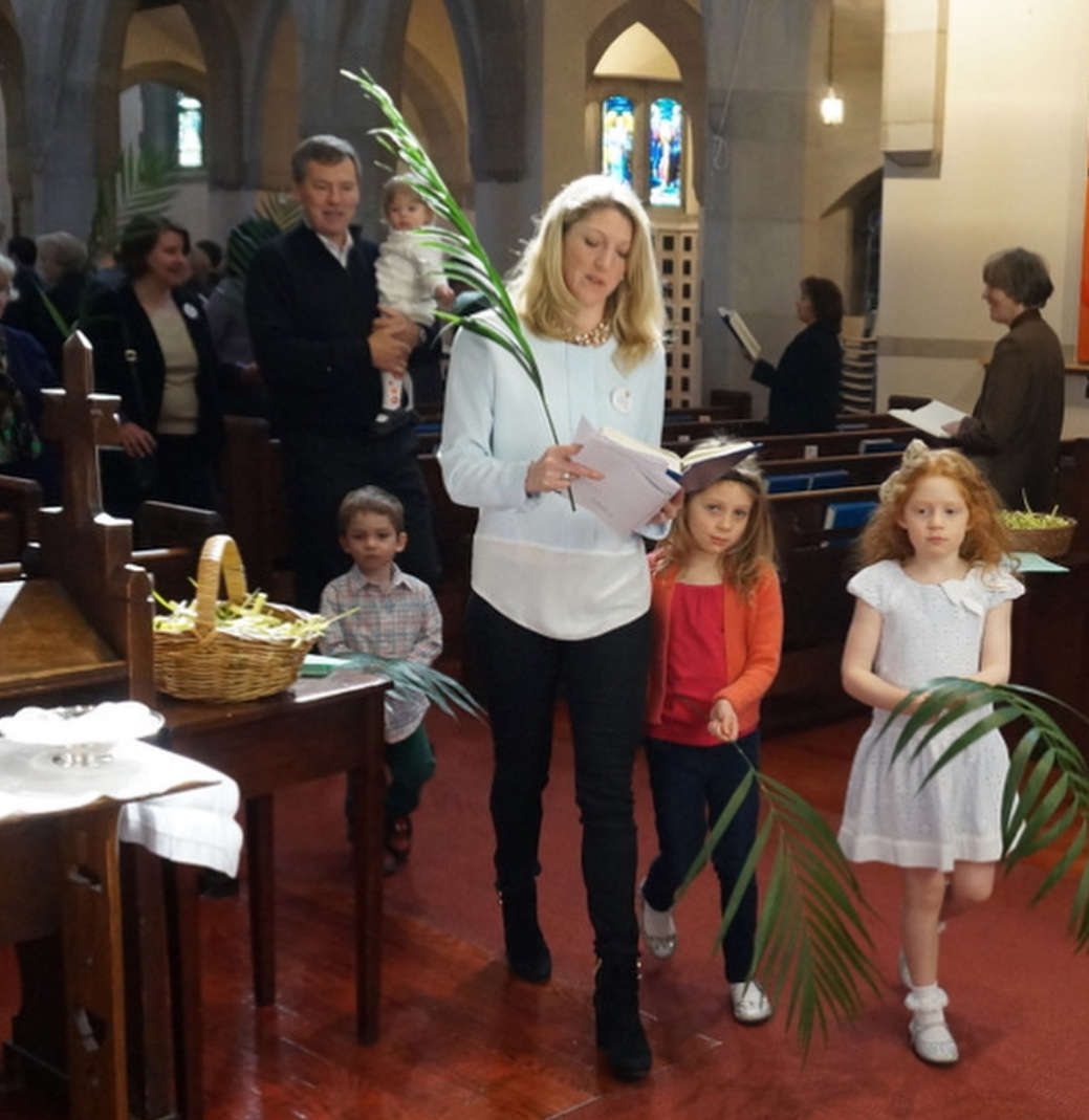 Children learn about Easter