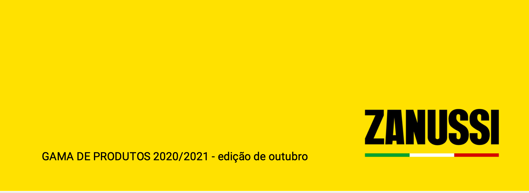 Catálogo Zanussi