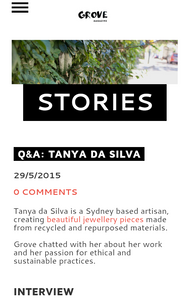 Q&A with Grove Magazine