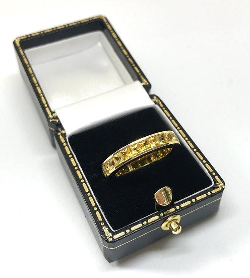 18ct Yellow Sapphire Ring