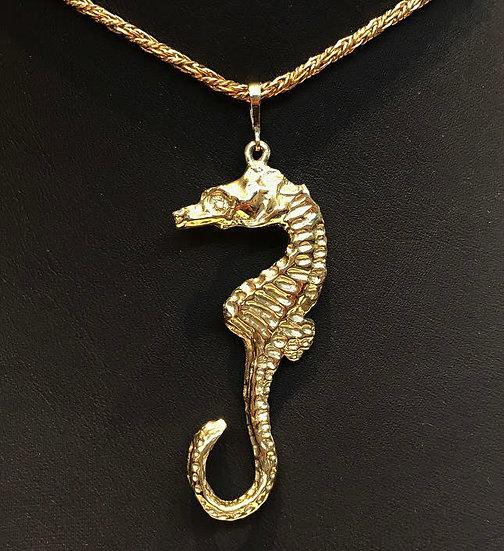 9ct Seahorse Pendant