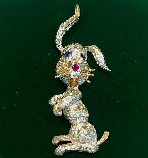 Handmade Rabbit Pendant