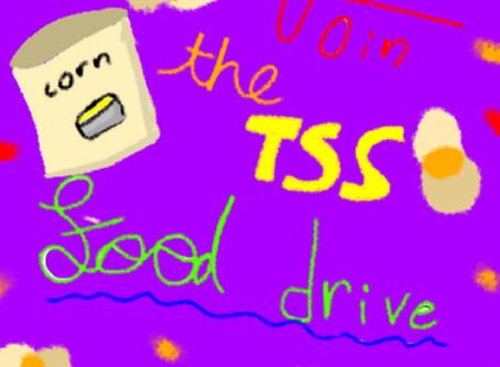 TSS Food Drive