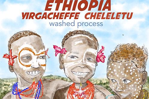 Ethiopia Yirgachaffe Cheleletu G1 (Washed Process) {Filter}