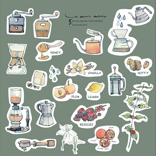 {Sticker} Coffee Series Vol.1