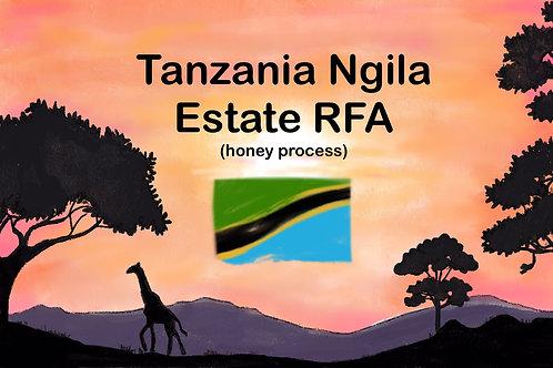Tanzania Ngila Estate RFA  (Honey process)  11 g {drip bag}