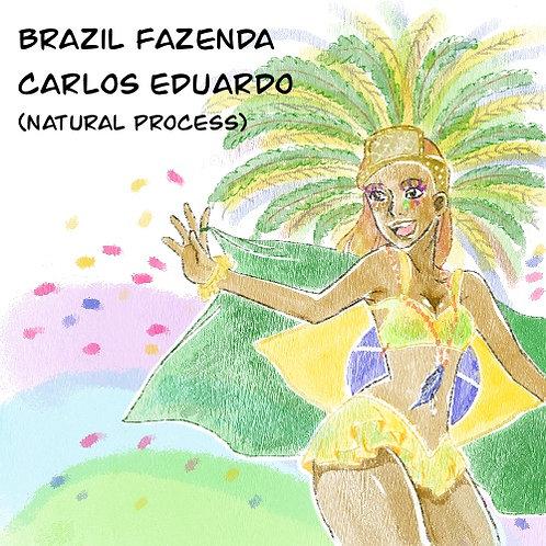 Brazil Fazenda Carlos Eduardo (Natural Process) {Espresso}