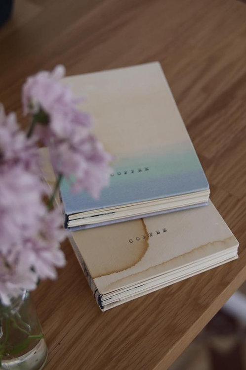 "Handmade ""Coffee Notebook"""