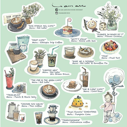 {Sticker} Coffee Series Vol.4