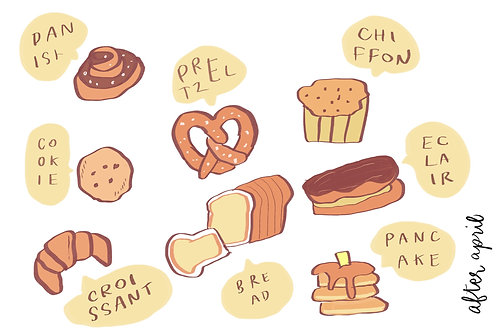 Coffee Sticker No.2 by After April