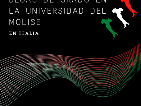 Estudia tu carrera ideal en Italia! La beca para vos esta ahí afuera