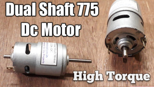 Dual 775 DC Motor Full Specification