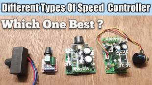 Different Types of PWM DC Speed Controller