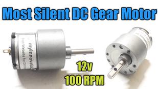 World's Most Silent Gear Motor