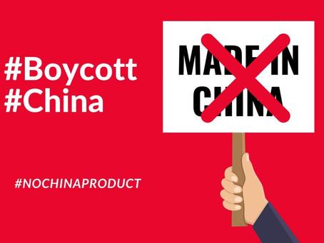 HOW CAN WE REALLY BOYCOTT CHINA ?