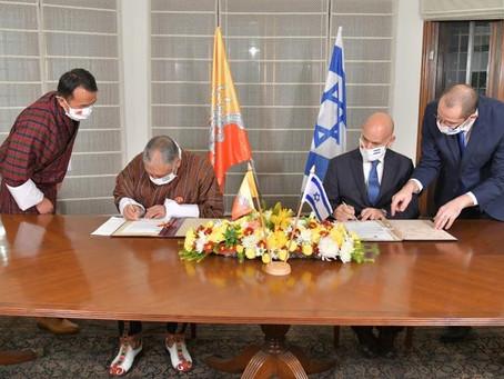 Bhutan & Israel New Diplomatic Relationship