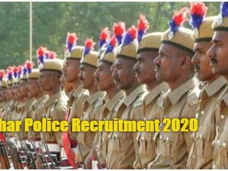 Bihar Police recruitment- 1998 Police Sub Inspector (SI) posts.