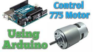 Control 775 Using Arduino Code