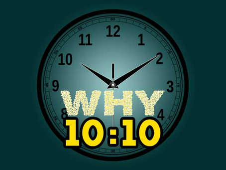 WHY THE CLOCK IS FIXED AT 10:10? ANSWER IS HERE