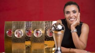 The best Female Footballer ever.