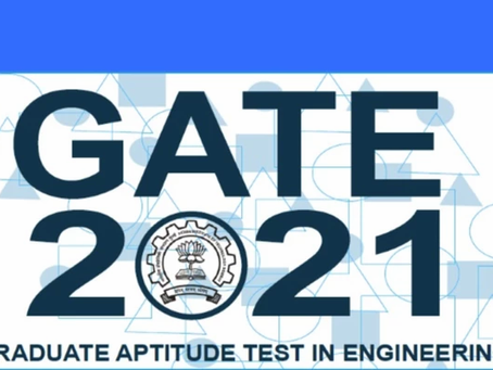 GATE 2021 SCHEDULE RELEASED, CHECK IT OUT