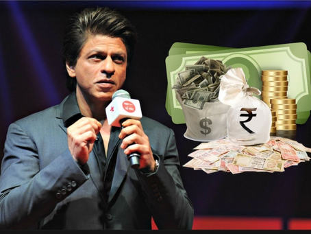 Per day income of Shah Rukh Khan, I can bet it's higher than the figure you have just imagined….
