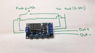 How to use 0.1-999m Delay Timer Circuit