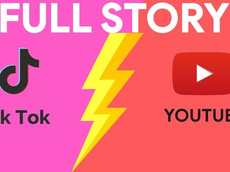 YouTube Vs Tiktok : Fierce Virtual Battle