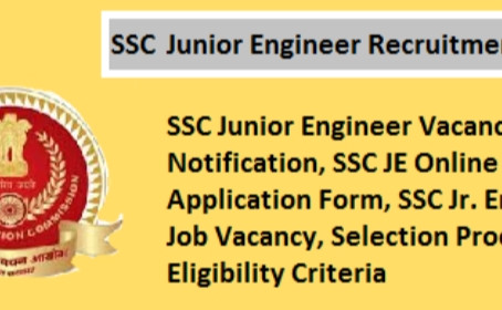 SSC JE 2020-21 recruitment notification out- 1845 Junior Engineer posts.
