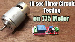 How to Use Timer Circuit 10sec Delay timer Circuit