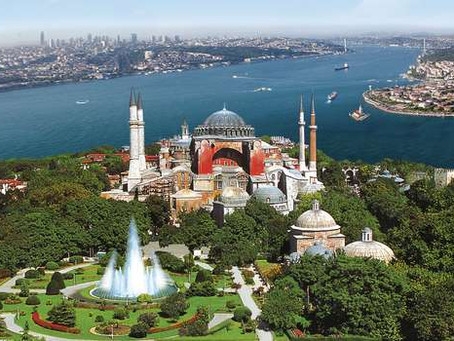 Transformation of HAGIA SOPHIA : FROM CHURCH  TO MOSQUE