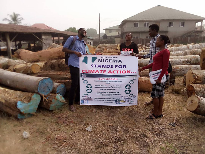 Trader Climate Sensitization in Nigeria