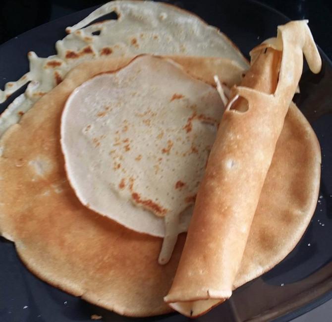 Pancakes à l'Islande
