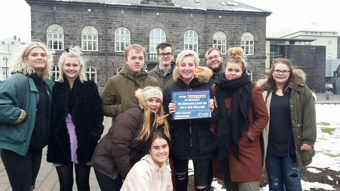 Iceland Petitions Against Oil and Gas