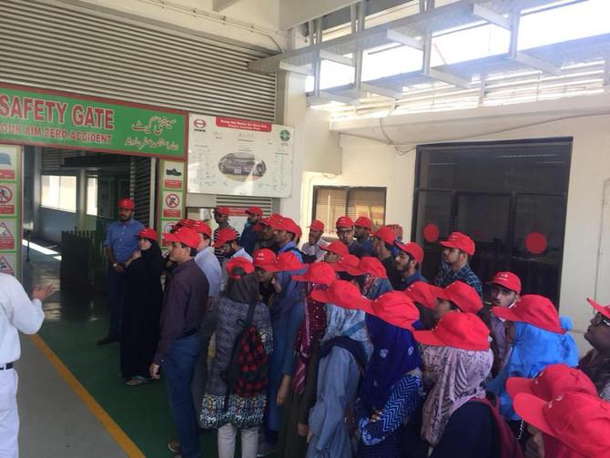 ISEC Pakistan Visits Hinopak Motors