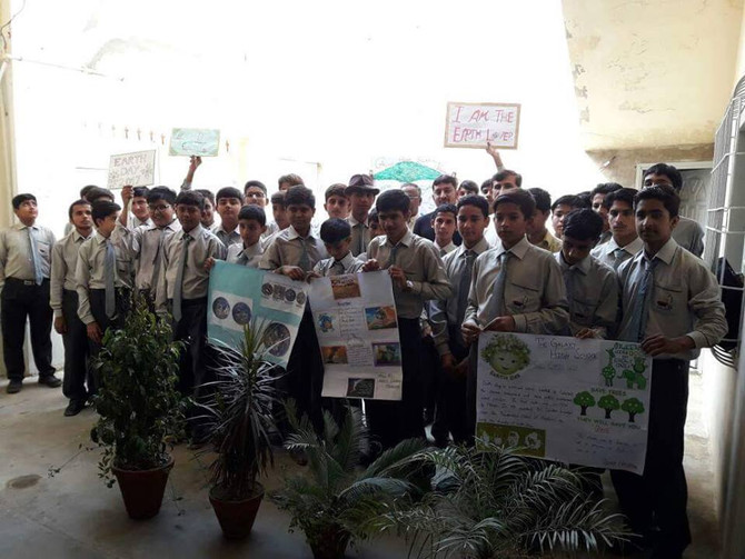 "Pakistan Leads ""Earth Lovers' Ribbon Campaign"""