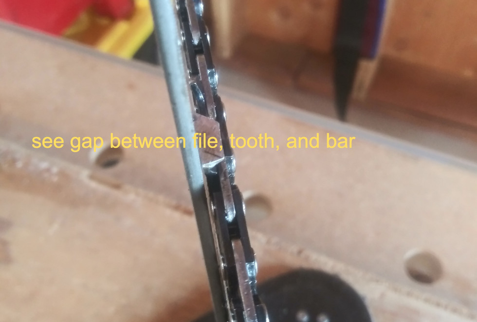 Chainsaw Bar/ Chain Drift