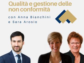 Qualità e gestione delle non conformità con Anna Bianchini e Sara Arosio
