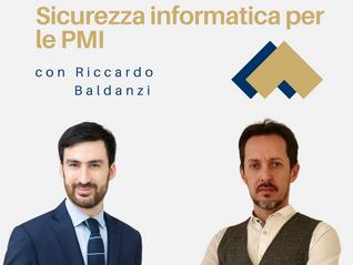 Sicurezza informatica con Riccardo Baldanzi
