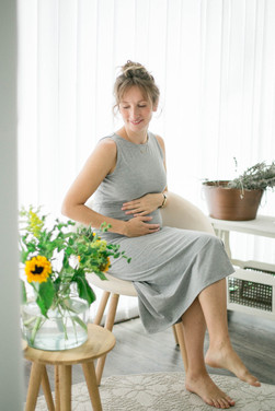 Kugelbauch Shooting Schwangerschaft Massage Studio Fotos Einklang Dortmund