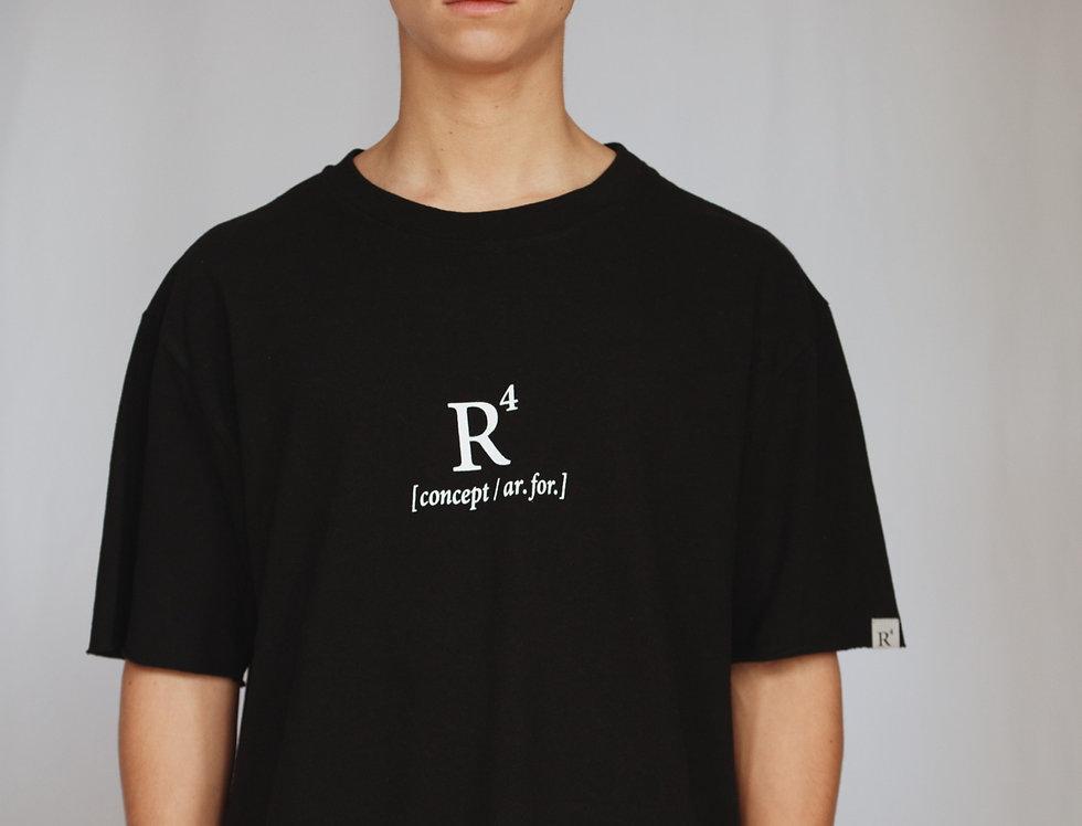 R4 CONCEPT HEAVYWEIGHT T-SHIRT BLACK BEAUTY