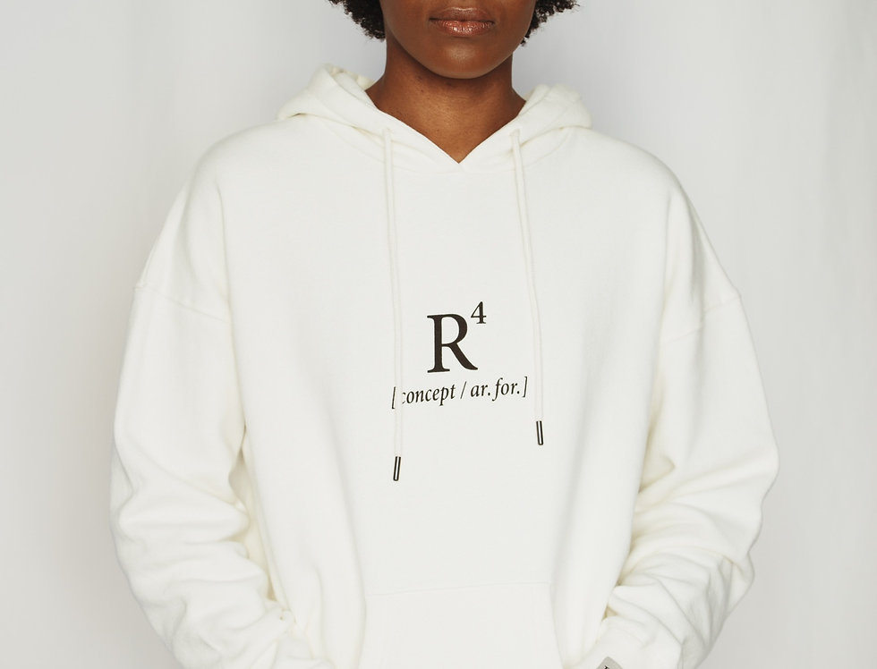 R4 CONCEPT HEAVYWEIGHT HOODIE NATURAL