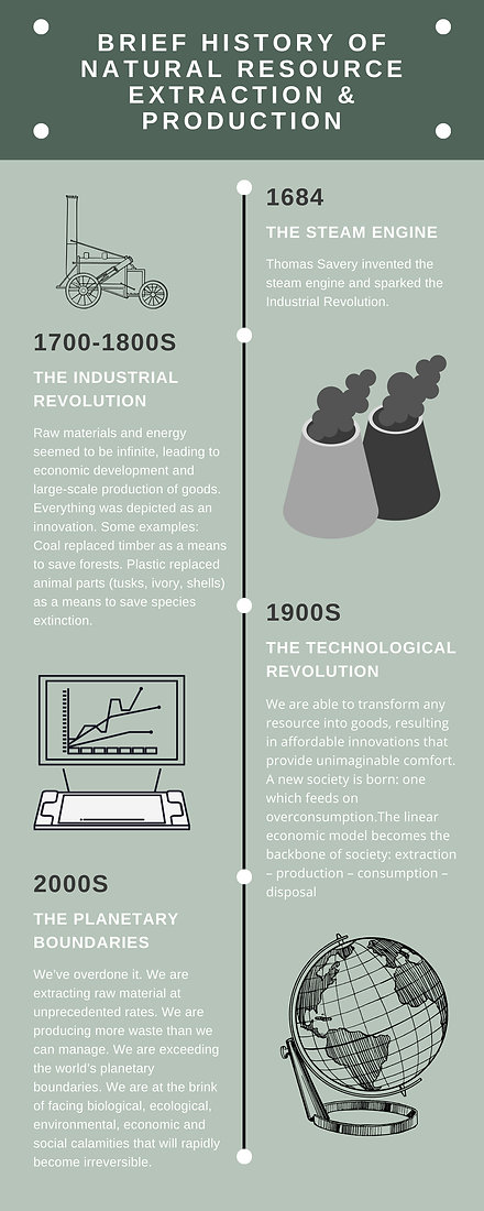 BRIEF HISTORY OF NATURAL RESOURCE EXTRAC
