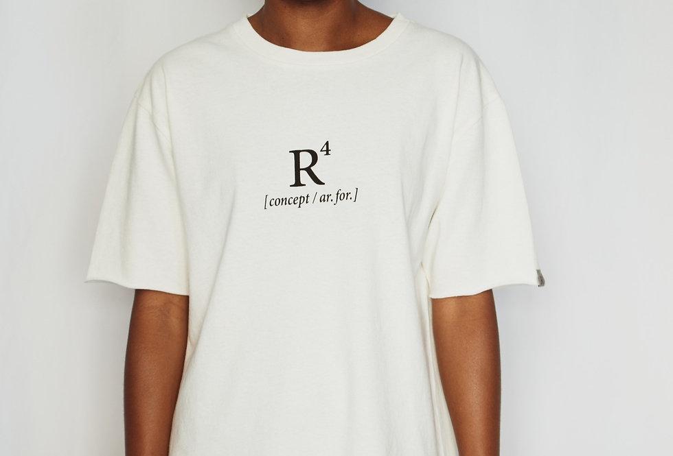 R4 CONCEPT HEAVYWEIGHT T-SHIRT NATURAL