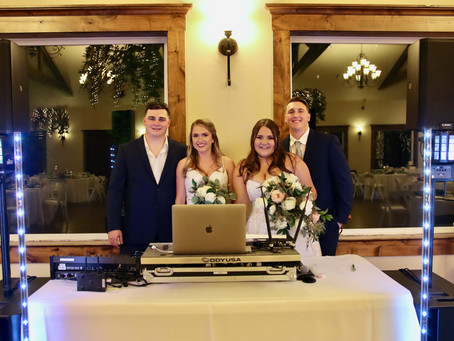 Two Couples, One Wedding!