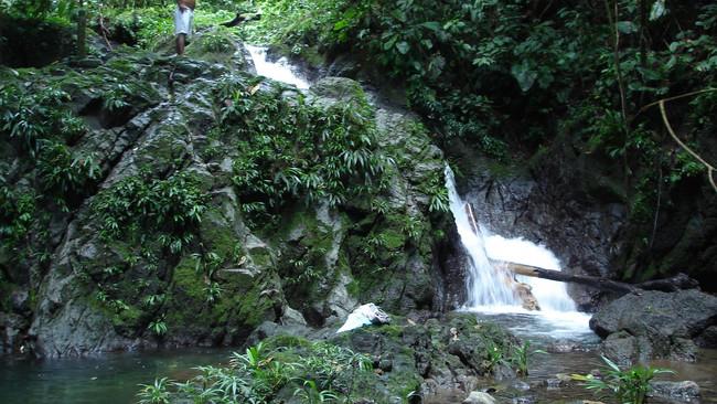 Cascada paseo río Joví Pijibalodge
