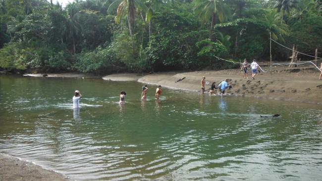 Río Terco cerca a Pijibalodge