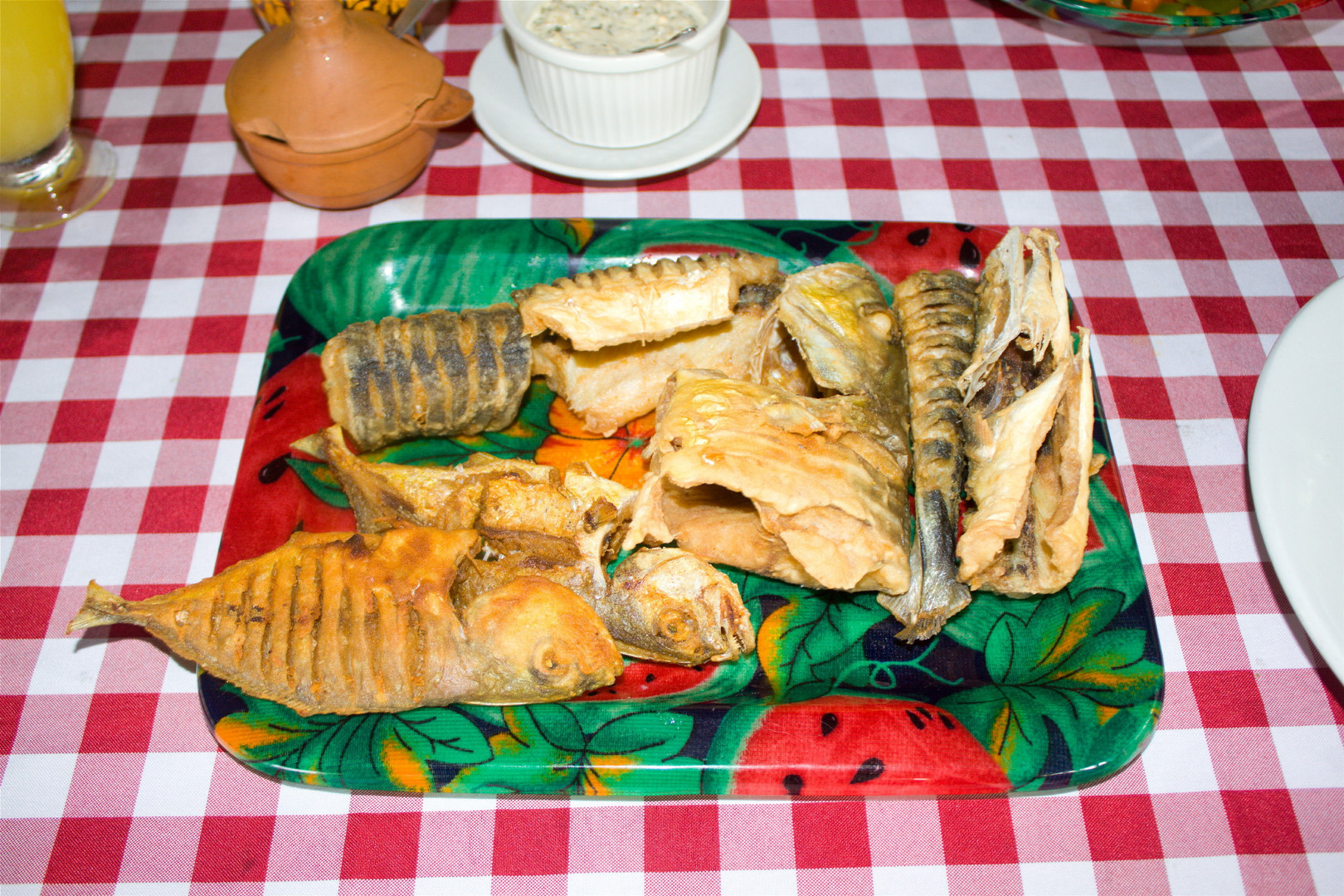 Pescado frito Pijibalodge