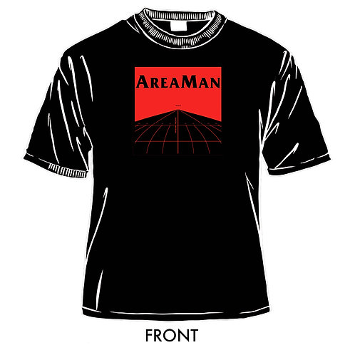 AreaMan Logo T-Shirt Black