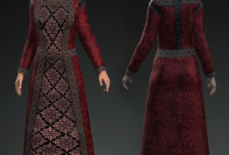Medieval Dress 8